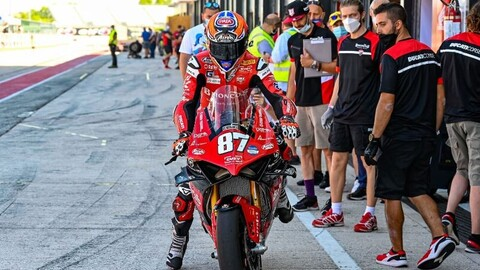 """CIV Superbike, Zanetti: """"Racing in Italy is not a professional reserve"""""""