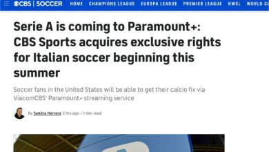 Photo of Foreign Rights Series A 2021-24 in the United States at CBS Sports / Paramount +