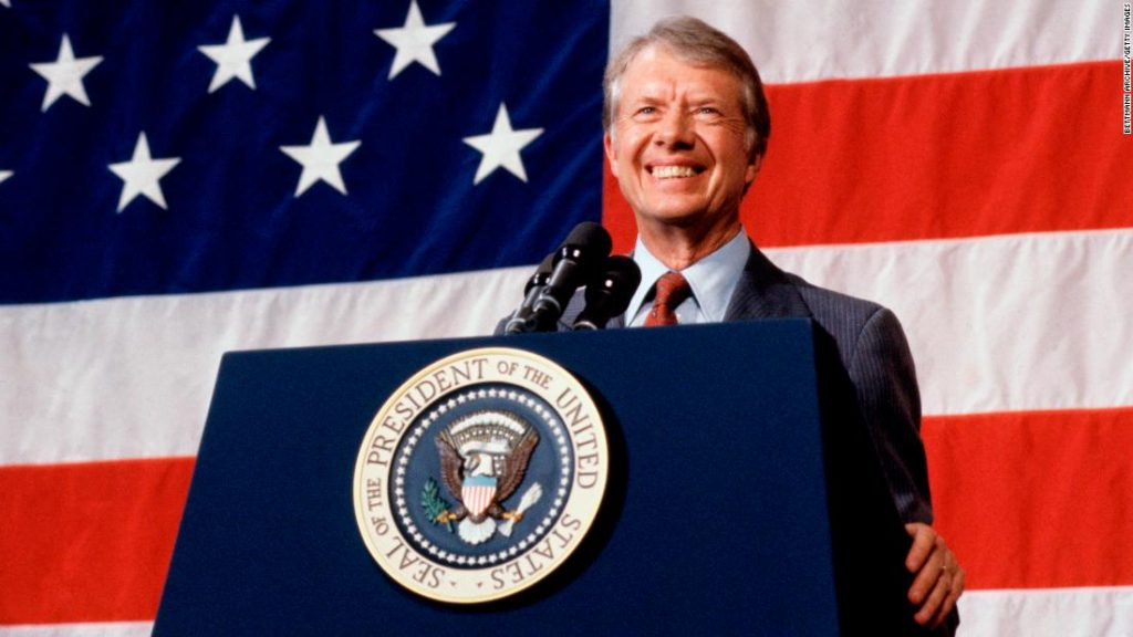 Jimmy Carter as President of the United States - Image Credits: Web