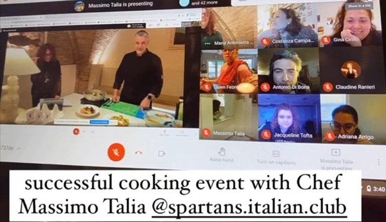 Il cooking show a distanza