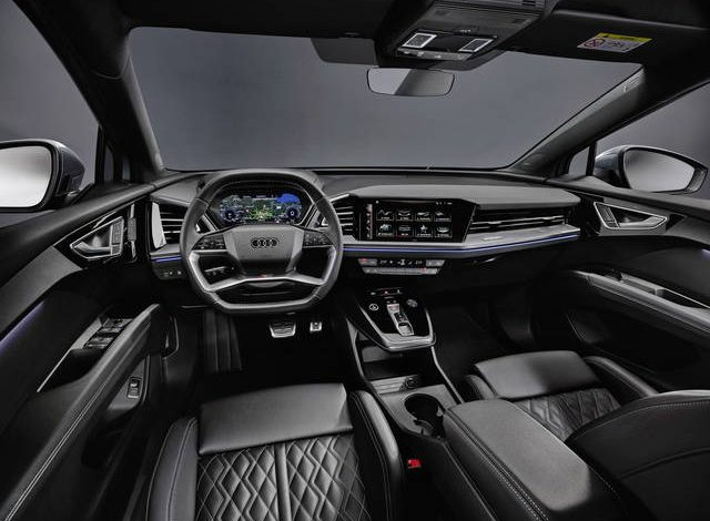 Audi Q4 e-tron: svelati gli interni