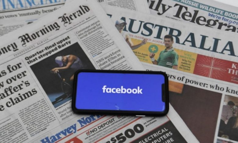 Australia: Agreement between Facebook and News Corp Murdoch to distribute the news on the social network
