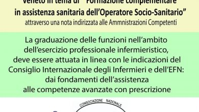 """Photo of CNAI Requests Revocation of Veneto's Decision """"Supplementary Healthcare Training for Social Health Operator"""""""