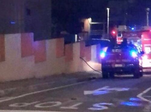 Cagliari, unleash the arsonists: For the umpteenth time, the gym of Via degli Stendardi is on fire