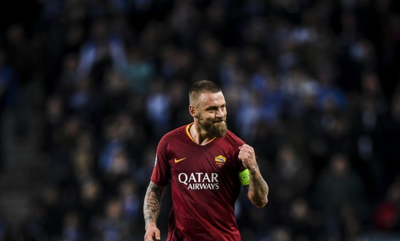Daniele De Rossi joins the national team
