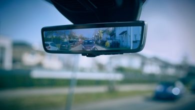 Photo of Ford smart mirror, rearview mirror that rescues cyclists and pedestrians