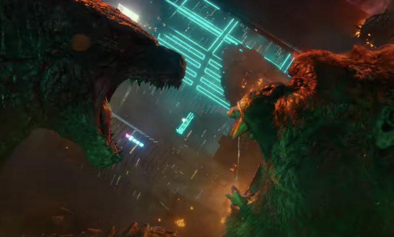 Godzilla Vs.  Kong, new online trailer