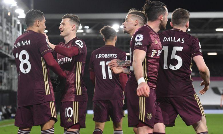 Leeds defeated Fulham 2-1