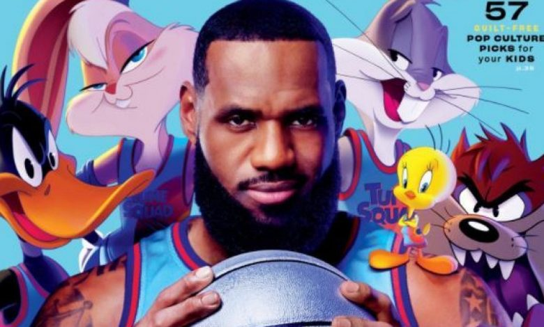 NBA Basketball, the Cup LeBron Lost: A Space Jam Actor in Jordan's Footsteps