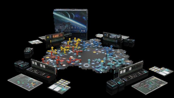 Stellaris Infinite Legacy, found on Kickstarter, is a 4X board game from Paradox Interactive - Nerd4.life