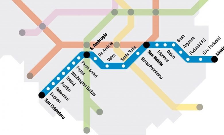The M4 in Milan will be the first metro line in Europe with 5G