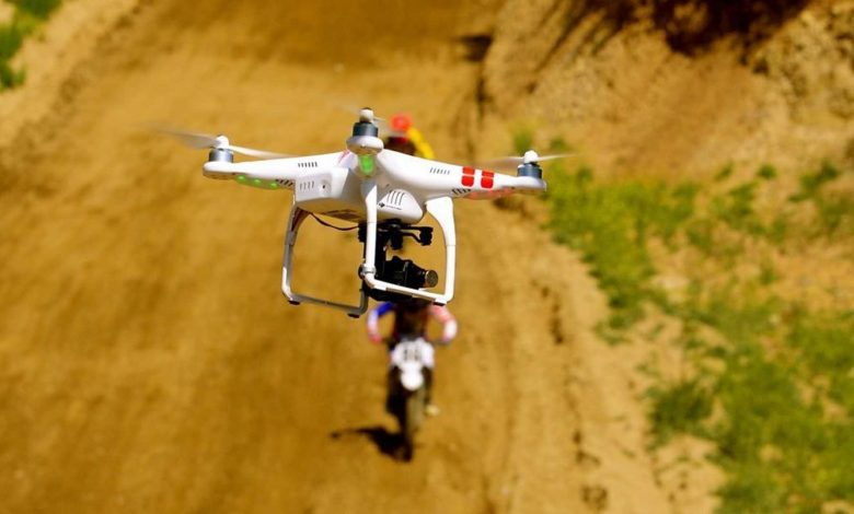 UK: Police are raising drones against thieves (and Enduro riders)