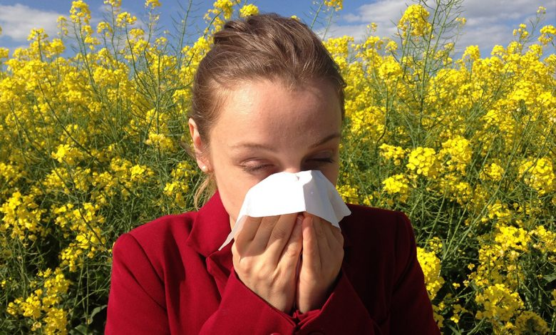 With these simple habits we fight pollen allergies even at home