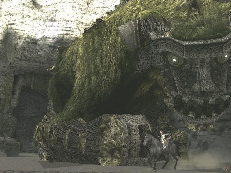 Shadow of the Colossus, a Sony Japan Studio masterpiece.