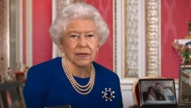 Photo of The English Channel 4 broadcast the Queen's speech by deep falsification