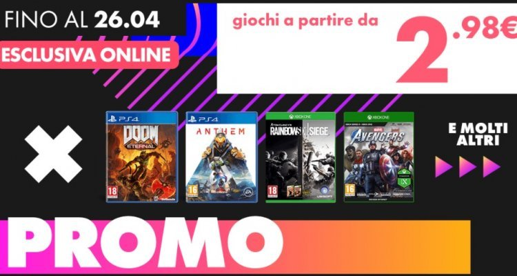 Hundreds of PS4, Switch and Xbox One games off from € 2.98 - Nerd4.life