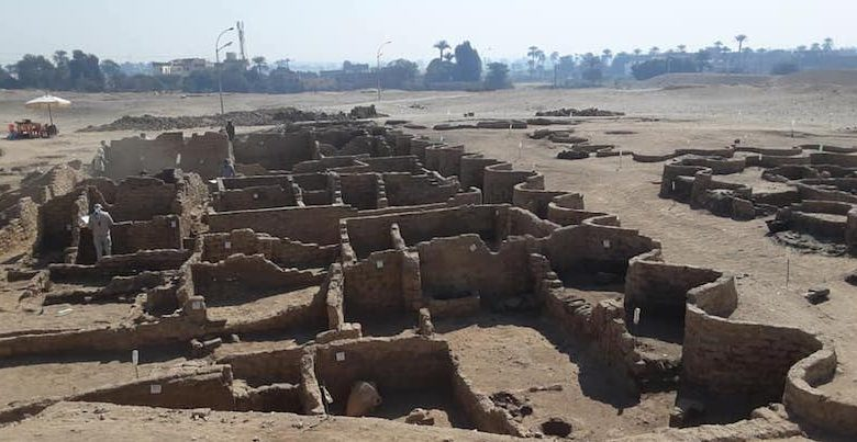 The ruins of a 3,000-year-old city have been found in Egypt