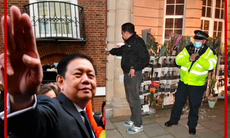 United kingdom.  London grants temporary asylum to the expelled Myanmar ambassador