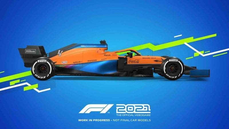 2021 F1, McLaren.