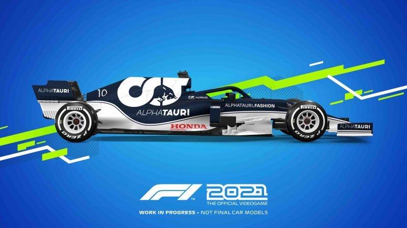 F1 2021, Alpha Tauri model.