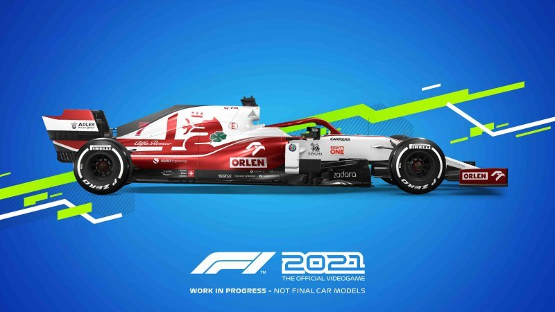 F1 2021, Alfa Romeo model.