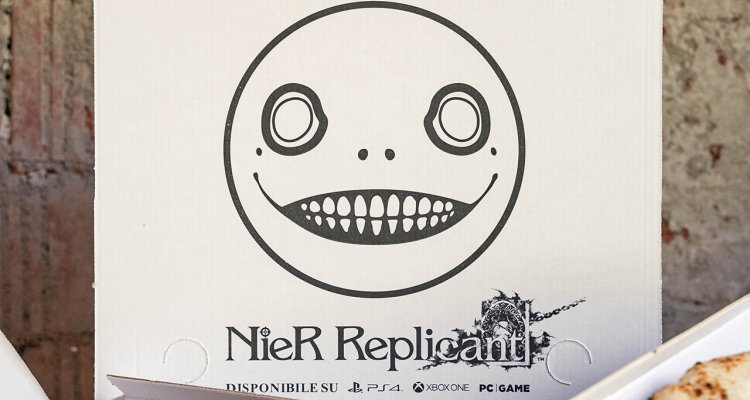 NieR Replicant version 1.22474487139, special game pizzas available in Milan - Nerd4.life