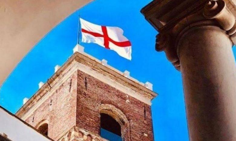 Genova si prepara alla celebrazione della Giornata della Bandiera di San Giorgio. Il collegamento con Londra