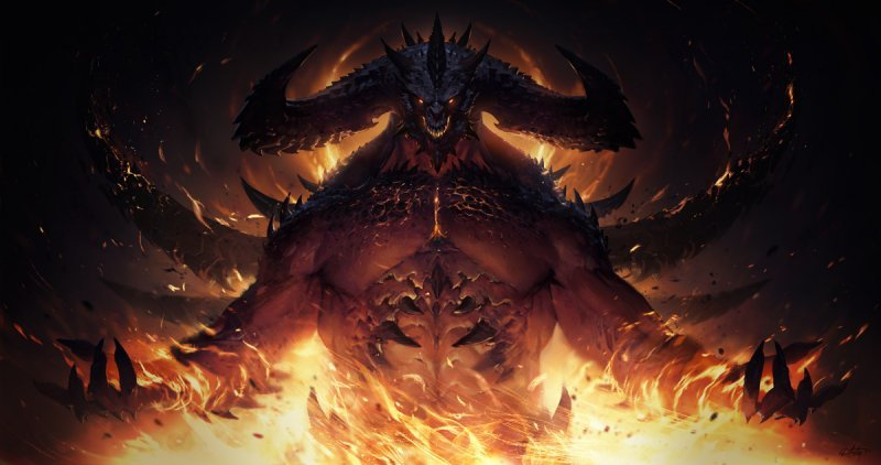 The Immortal Diablo, the official artwork.