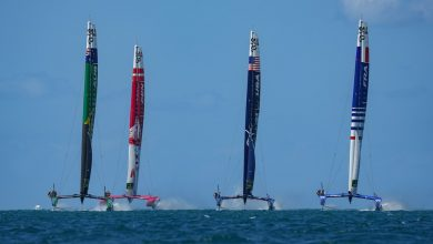 Photo of Australia's SailGP dominate the first day of the race in Bermuda
