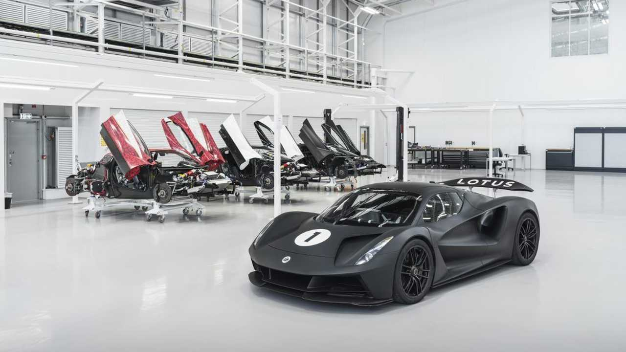 Lotus Eviga, development of the electric supercar continues