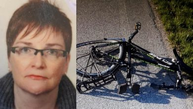 Photo of A car on a bike floods her, and she dies at the age of 48: she has two children left
