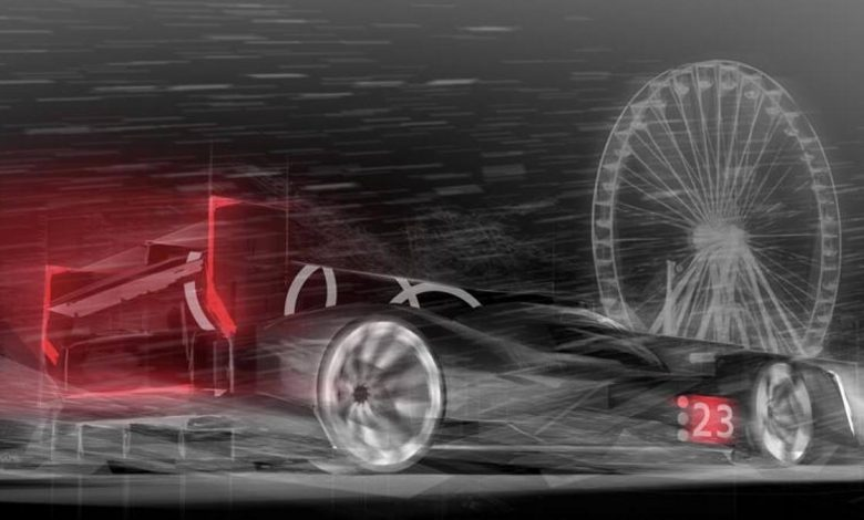 Audi at Le Mans from 2023: what the LmdH-class hybrid racing prototype will look like