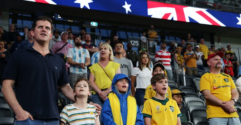 Australia changed the word of its national anthem