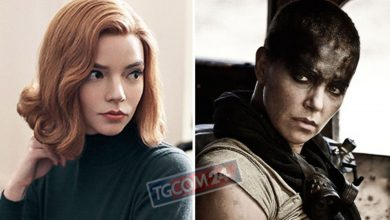 """Photo of Furiosa in Australia pre-shoot for """"Mad Max: Fury Road"""" with Anya Taylor Joy"""