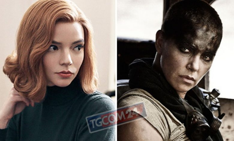 "Furiosa in Australia pre-shoot for ""Mad Max: Fury Road"" with Anya Taylor Joy"