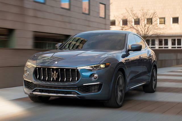 Maserati Levante: debutta la ibrida