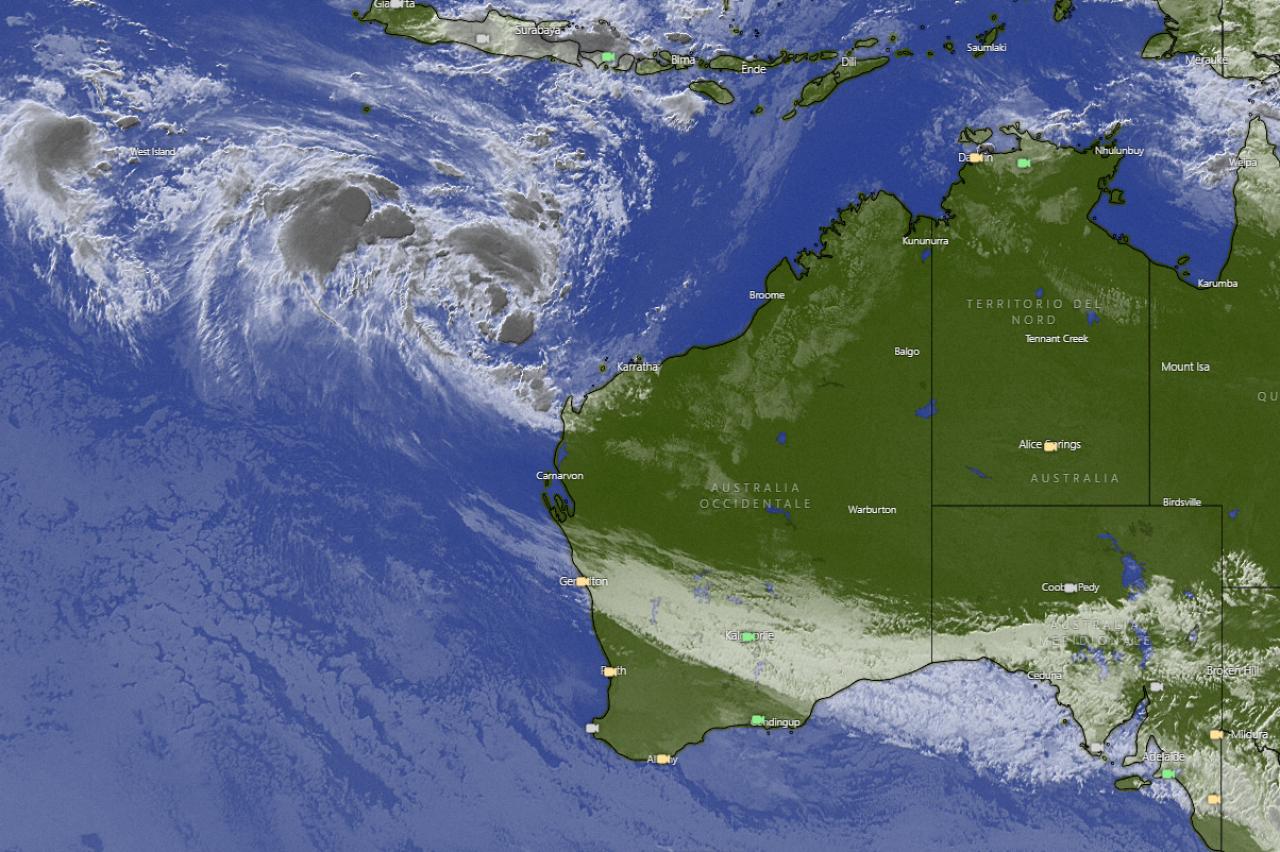 "Photo of Seroja ""3B Meteo"" alert in Australia"