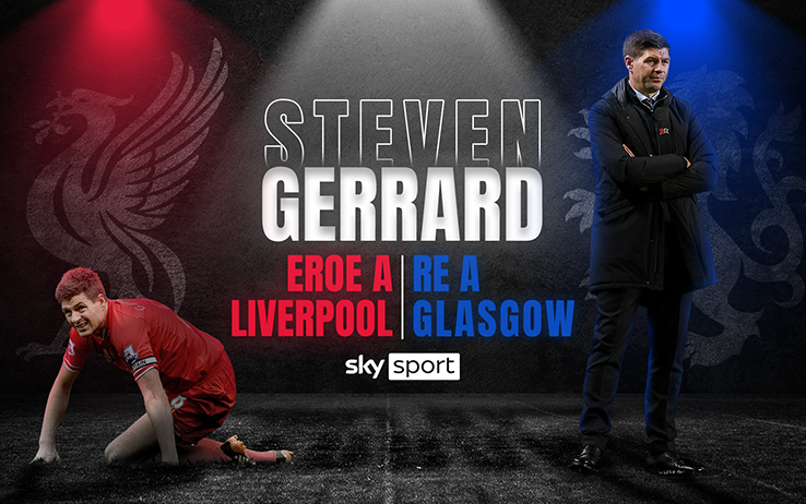 Steven Gerrard: the champion of Liverpool, the king of Glasgow.  Sky Sport special