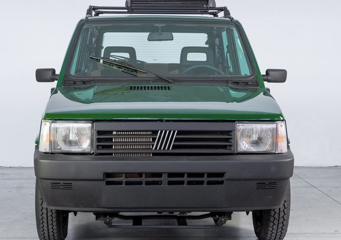 The Fiat Panda 4x4 goes electric, and here is Integral-e - Electric
