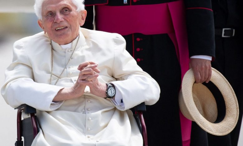 Today, Benedict XVI is 94 years old