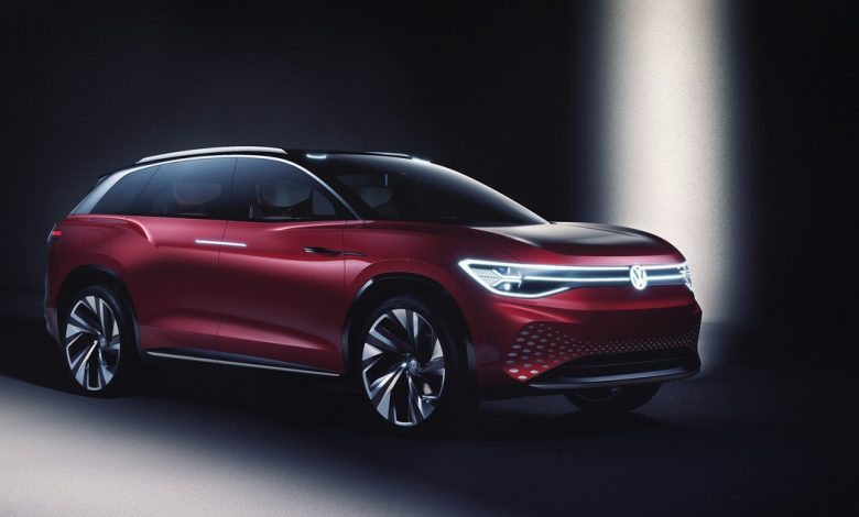 Volkswagen ID.6, new teaser ahead of the debut of the electric SUV