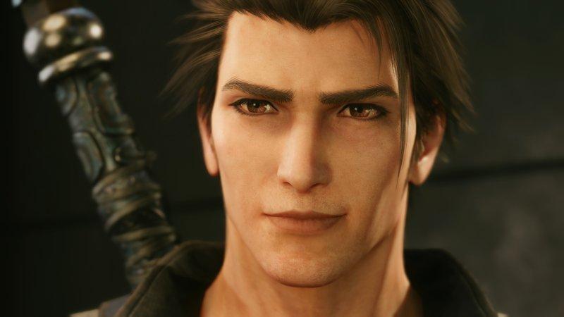 Final Fantasy VII Intergrid remake: Sunon.