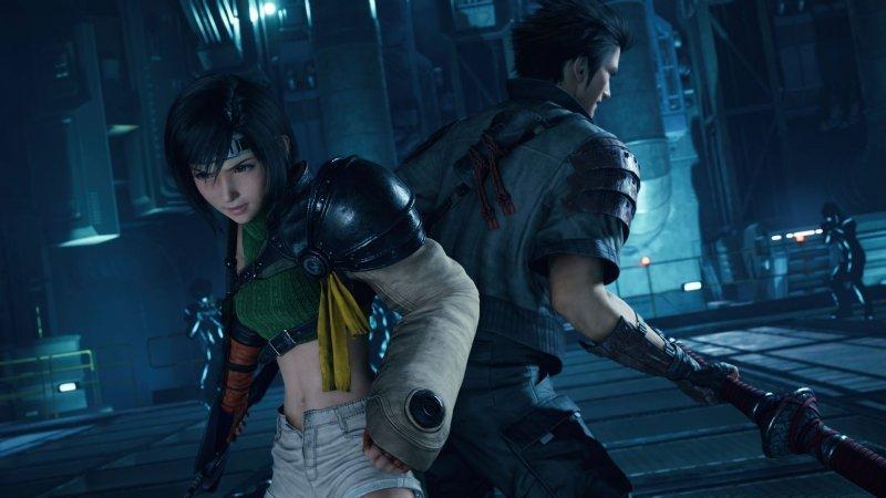 Final Fantasy VII Remake Intergrade: Yuffie and Sonon in the new DLC.