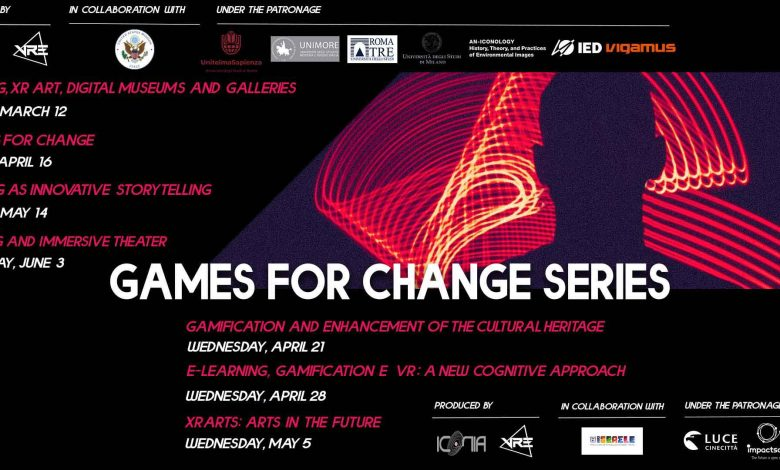 Game for Change series: Meetings with Gamification Experts