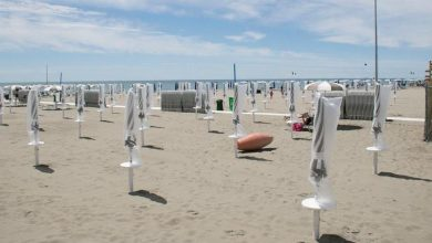 Photo of Grado, to get to the main beach there is an obligation to pay (3 euros) a service ticket