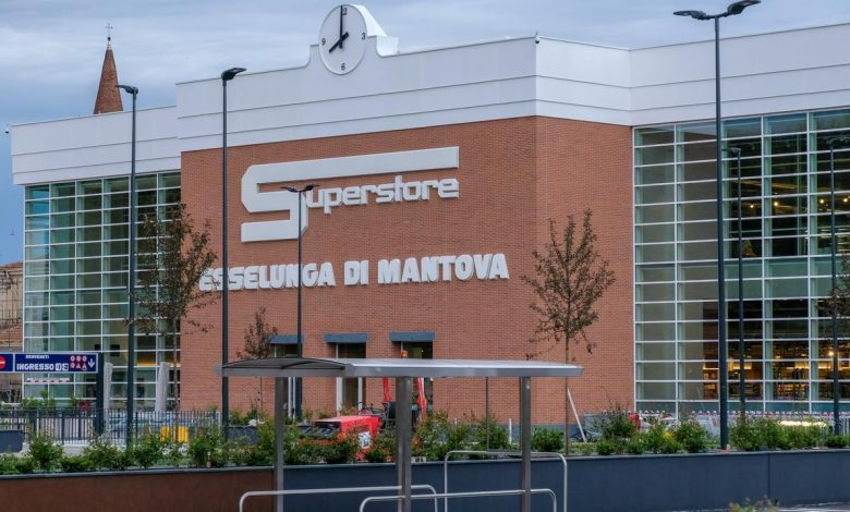 Construction site out of stock: Esselunga Mantova will open on Wednesday