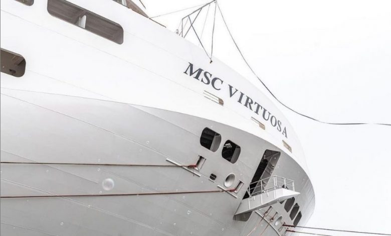 Il Vescovado - MSC Virtuosa has opened cruises in the UK.  On board the Amalfi Coast