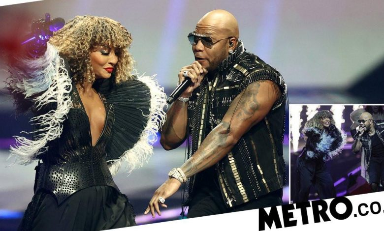 Eurovision 2021 fans were impressed by the look of Flo Rida