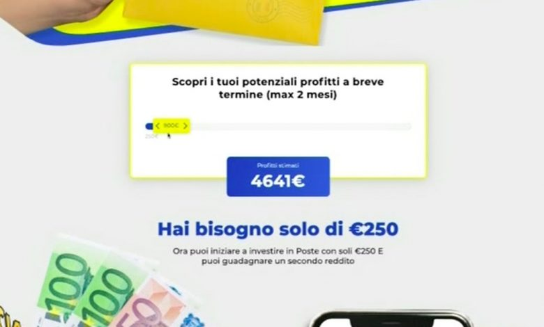 Striscia la Notizia, invest in the Italian post office?  Beware of ad scams that make you lose money - Libero Quotidiano