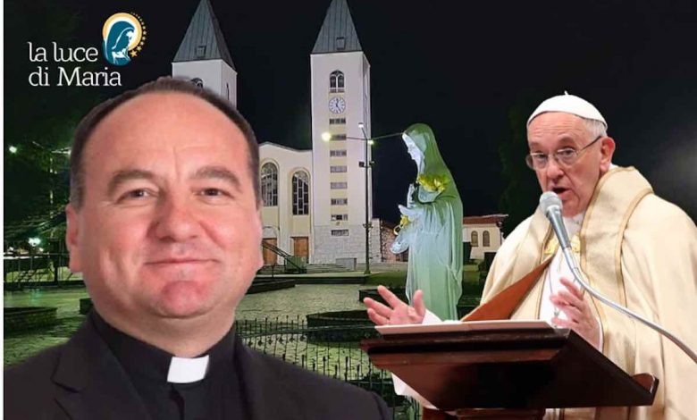 Bishop of Mostar in a private meeting with the Pope